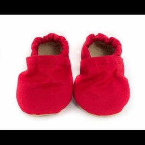 Other - Red baby moccasins
